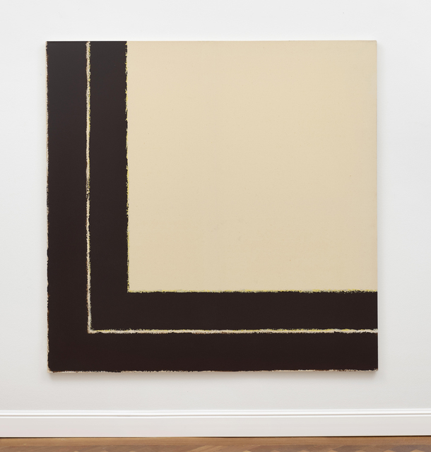 Winfred Gaul, '2 Farbmarkierungen im Winkel m. Rolle No 15-81', 1981, Ludorff