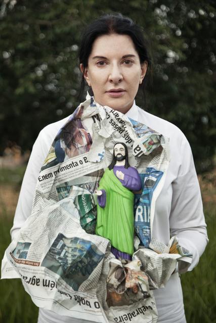 Marina Abramović, 'Portrait with Jesus', 2015, Luciana Brito Galeria