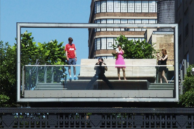 , 'High Line Postcard,' 2013, Katya Valevich + Julie Solovyeva