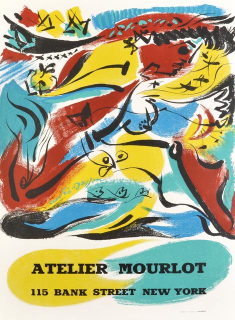 André Masson, 'Atelier Mourlot', 1967, Print, Lithograph, Hans den Hollander Prints