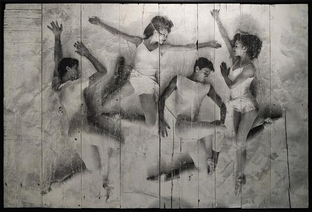 , 'New York City Ballet Art Series, Paper Interactions #27, 2014,' 2014, Lazinc