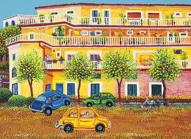 , 'Amalfi street with Lemon tree,' 2016, Soul Art Space