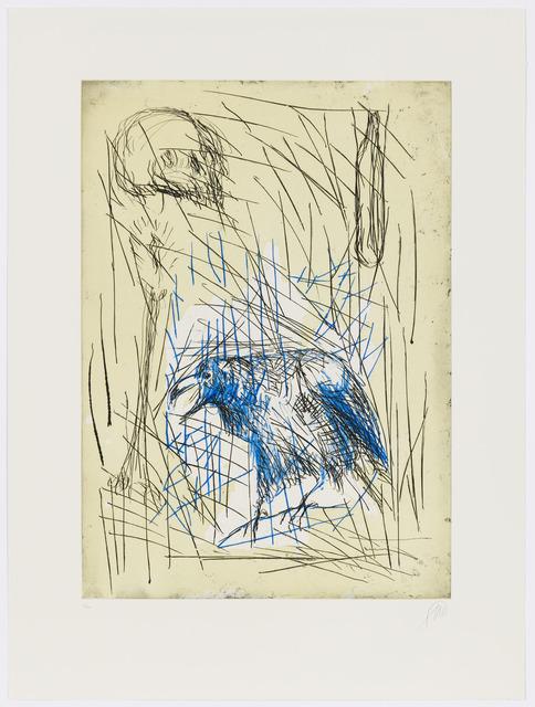 Markus Lüpertz, 'Abend #1', 1999, Graphicstudio USF
