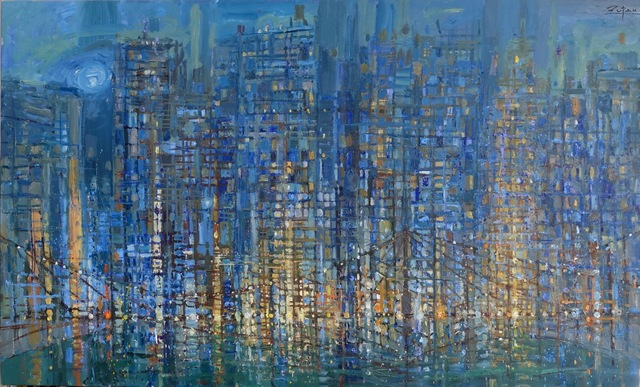 , 'Mosaic City,' 2018, Galerie d'Orsay