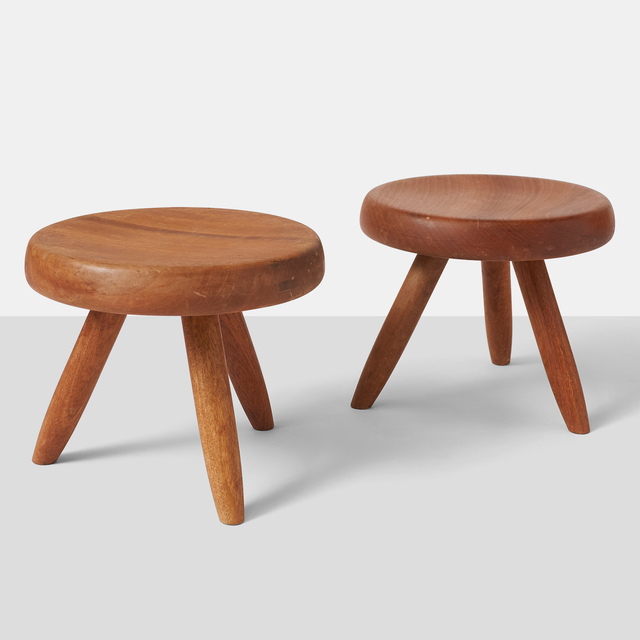 , 'Pair of Low Stools by Charlotte Perriand ,' , Almond & Co.