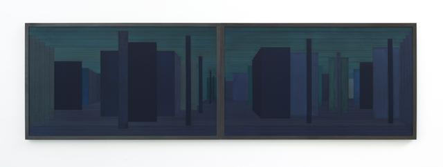 , 'Sintropic Maze - series I B- Blue,' 2016, Zipper Galeria
