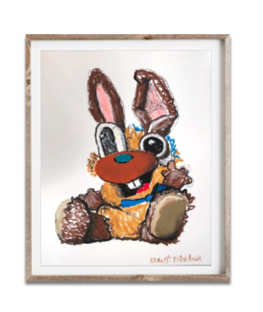 , 'Rabbit Bear,' 2018, Mugello Gallery