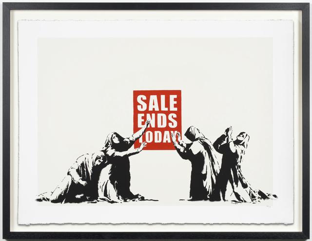 Banksy, 'Sale Ends Today', Simard Bilodeau Contemporary