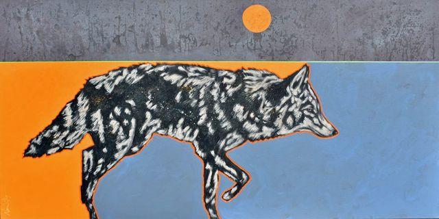 """, '""""Rare Moon Coyote"""",' 2018, Bonner David Galleries"""