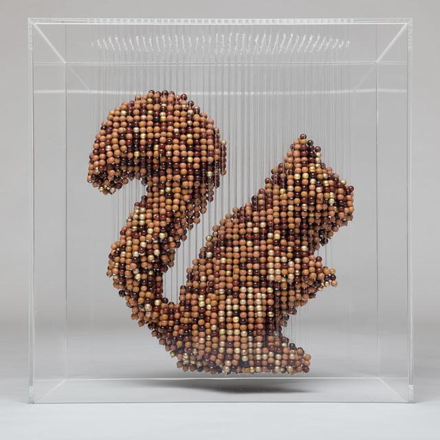, 'Squirrel,' 2017, Rademakers Gallery