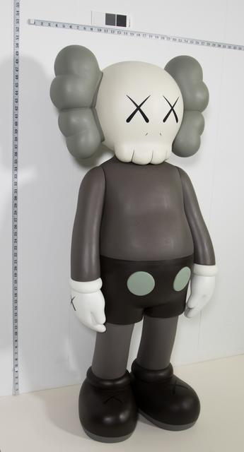 KAWS, 'Brown Companion', 2007, Sculpture, Cast vinyl sculpture painted in colors, Carmichael Gallery