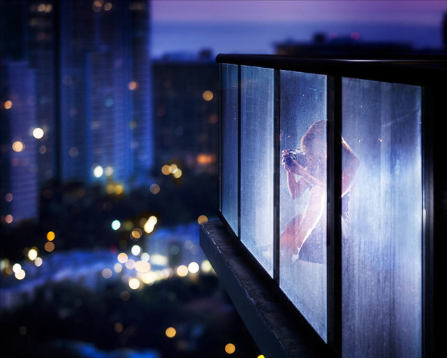 David Drebin, 'The Spy', 2018, Photography, Digital C-Print, Isabella Garrucho Fine Art