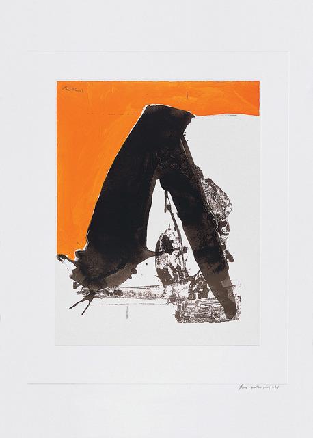 , 'The Basque Suite: Untitled,' 1971, Marlborough Gallery