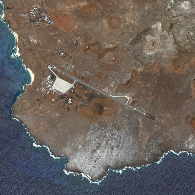, 'Ascension Auxiliary Airfield, Ascension Island,' 2010, Carroll / Fletcher