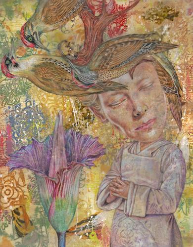 , 'Saint Amarilla of the Woodpeckers,' 2009, Imlay Gallery