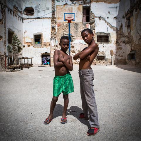 , 'Us vs. EVERYBODY,' 2015, Gugsa Black Arts Collective