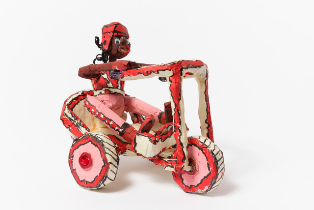 , 'Untitled (WH254 pink and red tricycle with figure),' , The Good Luck Gallery