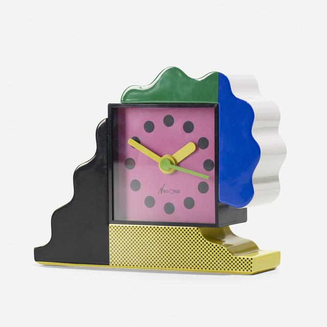 Nathalie Du Pasquier, 'Neos table clock', c. 1988, Wright