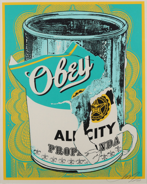 Shepard Fairey, 'Soup Can II', 2009, Chiswick Auctions