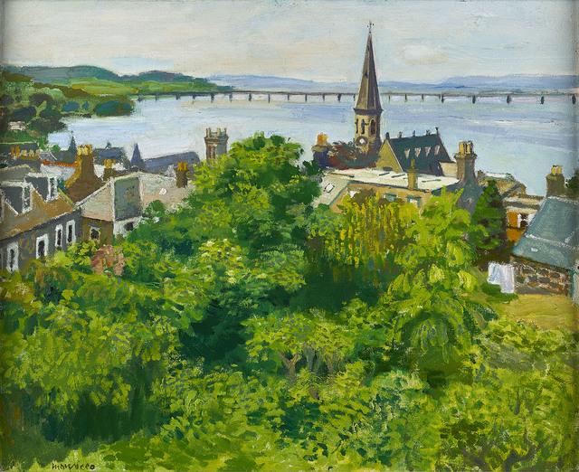 , 'Tay Bridge from Newport,' ca. 1975, The Scottish Gallery