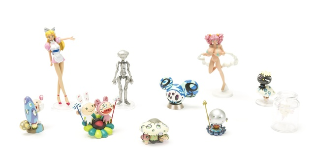 Takashi Murakami, 'Museum Collection', 2005, Sculpture, The complete set of ten painted vinyl multiples, each with the original cardboard sleeve, Forum Auctions