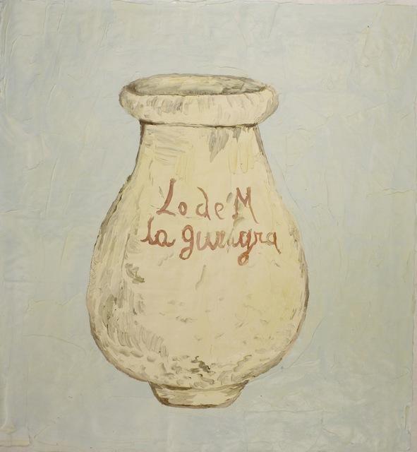 , 'Tinaja L. de M. la Guayra. siglo XVIII (de la serie alfareria venezolana),' 2014, Galeria Leme
