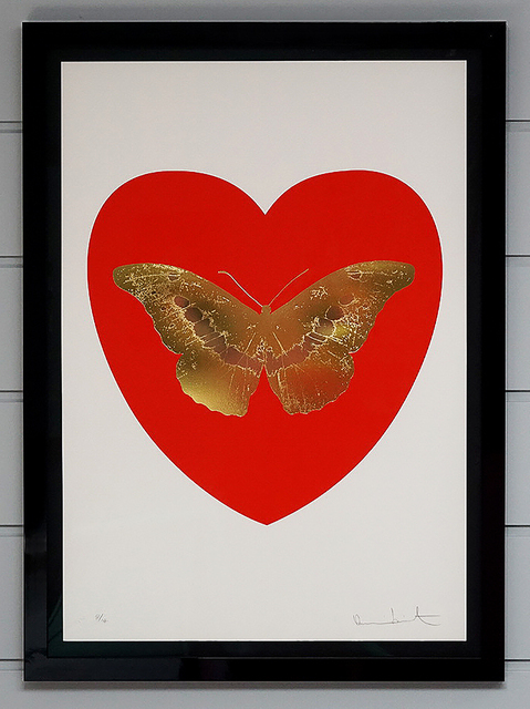 Damien Hirst, 'Butterfly - Poppy Red', 2015, Arton Contemporary