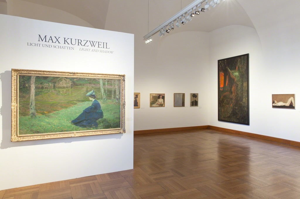 Exhibitionview, Max Kurzweil - Light and Shadow