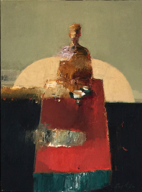 , 'Red Table,' 2015, Sue Greenwood Fine Art