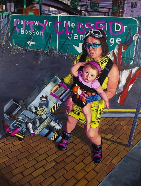 , 'Abigail Daedalus Returns! The Northern Blockade,' 2014, Childs Gallery