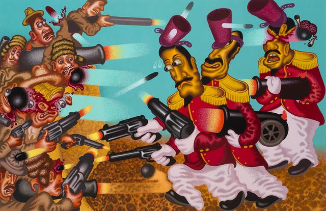 Peter Saul, 'Return to the Alamo', 2017, Gary Tatintsian Gallery