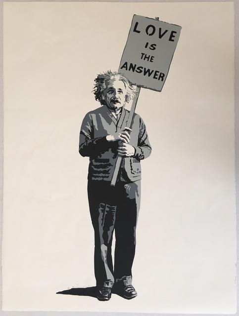 Mr. Brainwash, 'Love is the Answer', 2009, Print, Screenprint, Puccio Fine Art