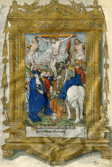 , 'Crucifixion,' 1500-1541, Thomas French Fine Art