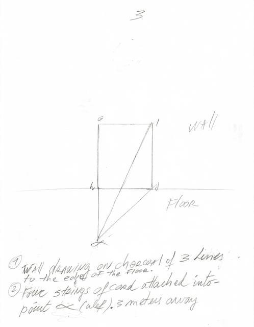 , 'Instrucciones para Situación de un rectángulo en dirección al alfa,' 2018, Herlitzka + Faria