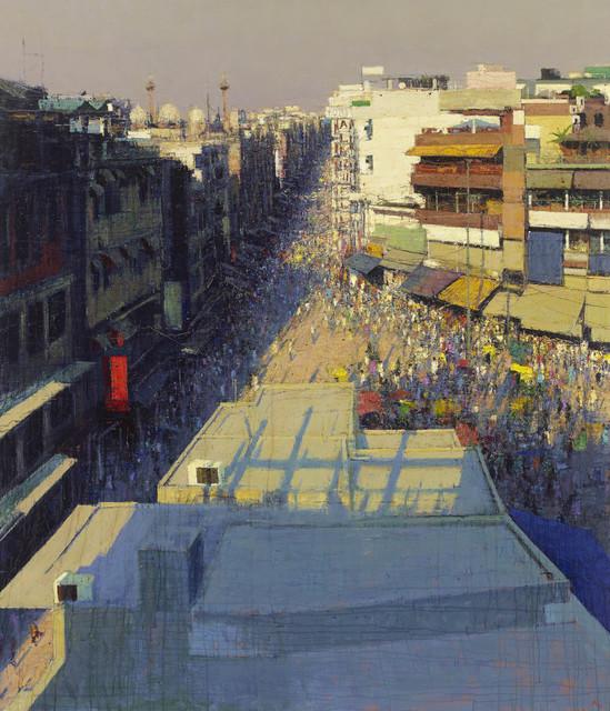 , 'Paharganj Bazaar, Delhi I,' 2017, John Martin Gallery