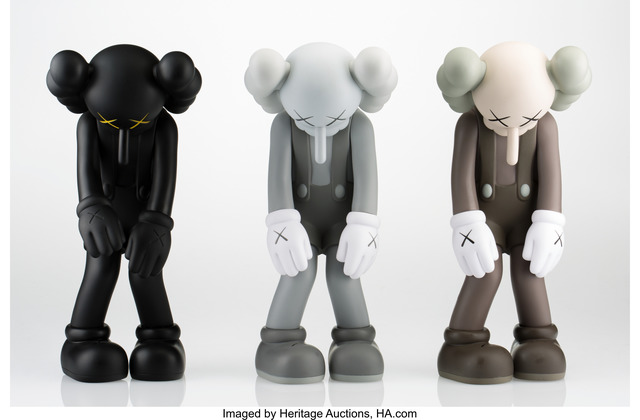 KAWS, 'Small Lie (set of three works)', 2017, Heritage Auctions