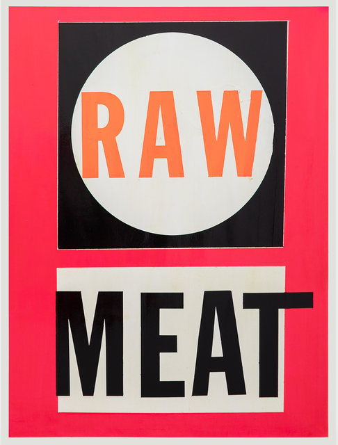 , 'Raw Meat ,' 2019, V1 Gallery