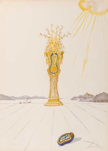Salvador Dalí, 'Barometer Woman, from Time', 1976, Heritage Auctions