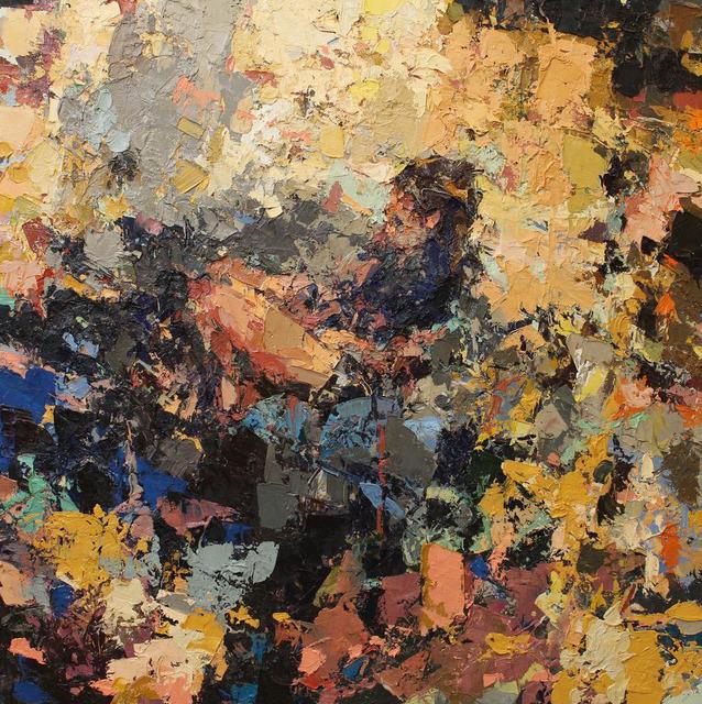 Joshua Meyer, 'Ellipsis', 2019, Painting, Oil on panel, Rice Polak Gallery