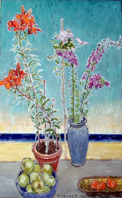 , 'Lily, Clematis, Foxgloves & Fruit,' , Bau-Xi Gallery