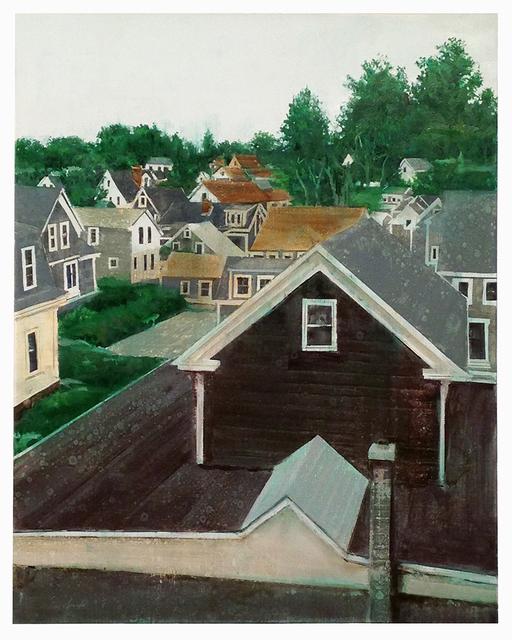 , 'Provincetown Rooftops 2,' 2017, Albert Merola Gallery