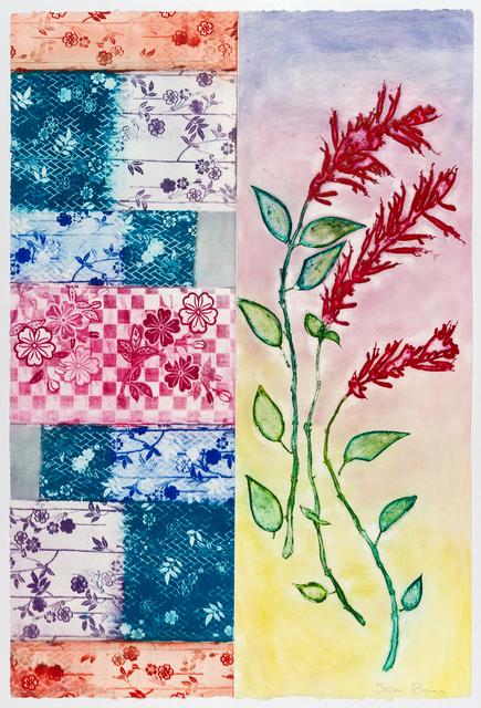 Susan Baran, 'Kimono Dreaming', 2013, Print, Photopolymer intaglio a la poupée, Sydney Printmakers