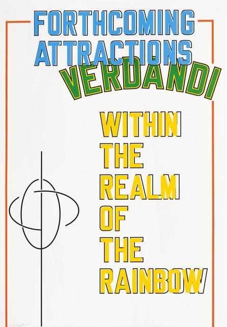 , 'Verdandi,' 2017, Edition Copenhagen