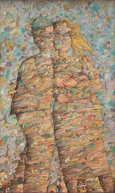 , 'Pareja Cósmica,' 1966, Galeria Sur