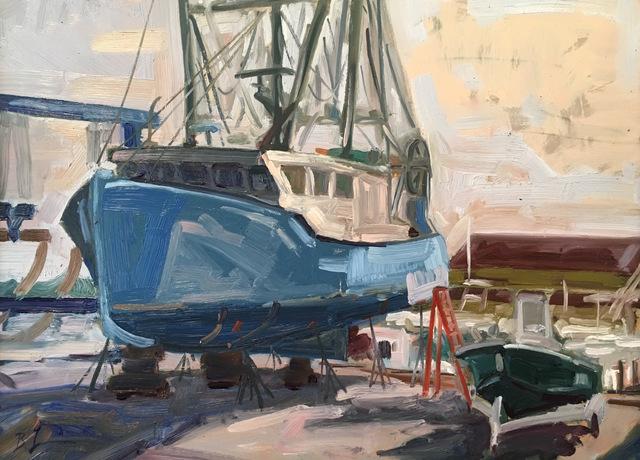 , 'Bobo's Boat,' 2017, Grenning Gallery