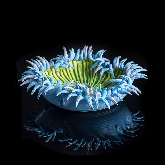 , 'Blue and Lime Flower Anenome,' 2018, Art Salon