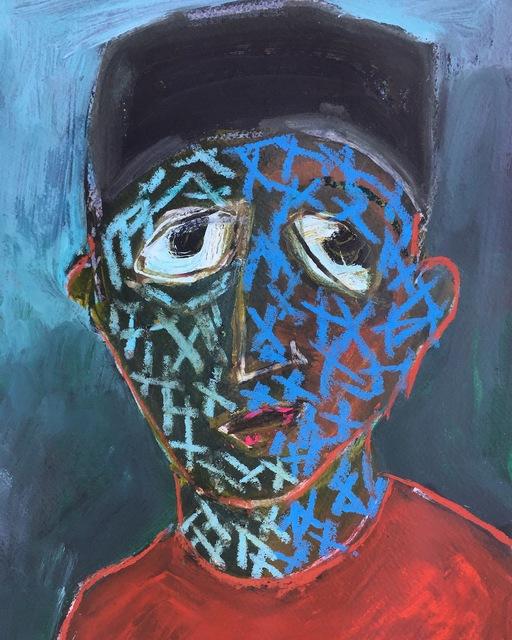 , 'Ahmad Bek ,' 2018, Eve Leibe Gallery
