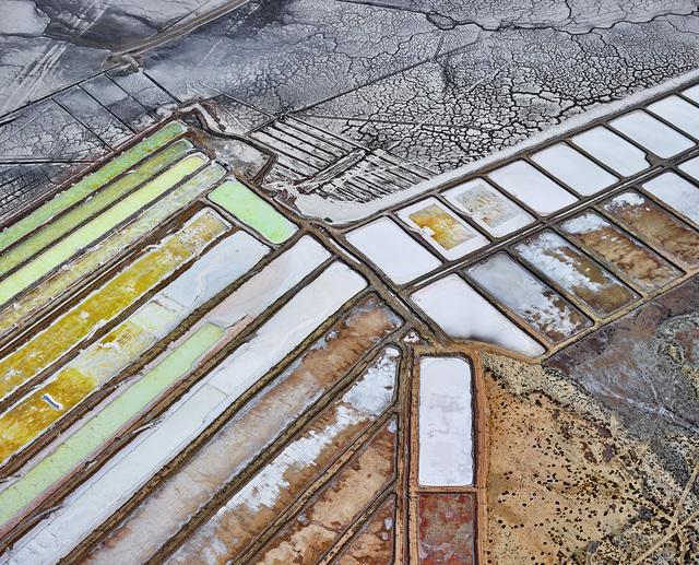 , 'Saltern Study Mex 1, Near Sea of Cortez, Mexico,' 2016, Per van der Horst gallery