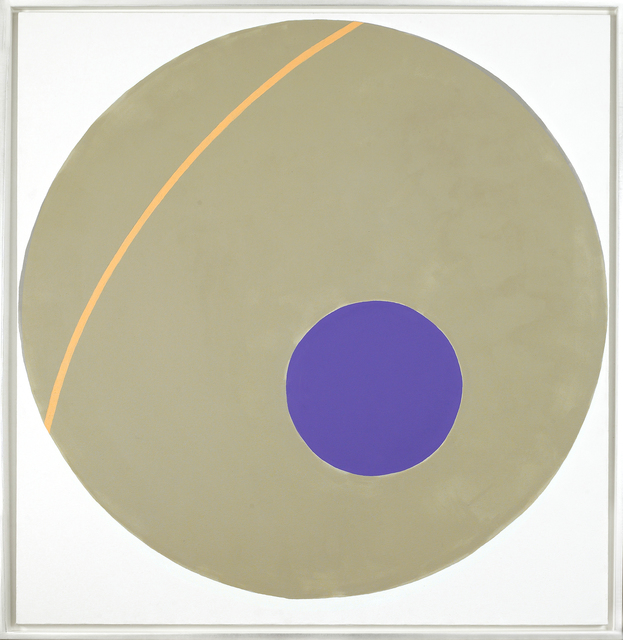 , 'Purple on Green,' 1963, Vallarino Fine Art
