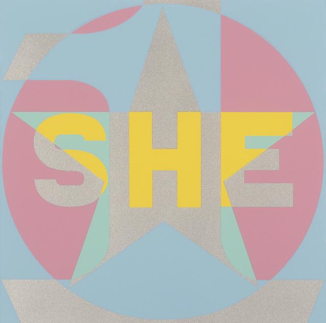 , 'SHE,' 2015, Contini Art UK